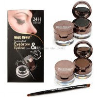 [UKURAN BESAR] Music Flower 2in1 Eyebrow + Eyeliner