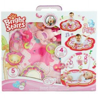 Bright Starts Playmate Sweet Safari Preety in pink Activity Gym