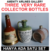 THREE VERY RARE COLLECTORS BOTTLES