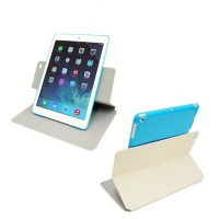 Capdase Apple iPad Air Case, Folder Case Sider Baco (White/Blue)