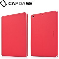 Capdase Apple iPad Air Case, Folder Case Sider Baco (Red/White)