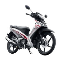 Honda New Supra X 125 Fi Sporty Luxury Fabulous White (OTR Banyumas)