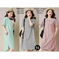 TUNIK VIONA BAHAN KATUN FIT TO L BESAR