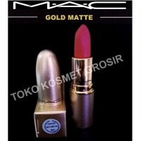 Mac Lipstick Gold Matte Edition Nice To Meet You Cremesheen