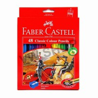 Faber Castell Faber-Castell Pensil Warna Classic colour pencils Long 48 Warna