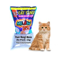 Pasir Wangi / Pasir Kucing Meow [Re-Pack 1kg]