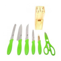 Oxone Knife Set OX 961 - Warna Hijau