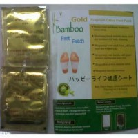 Natural Bamboo Koyo Kaki Bamboo Foot Patch - 1 Pasang