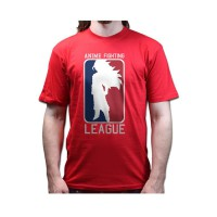 [JersiClothing] T-Shirt Anime Fighting League - Red