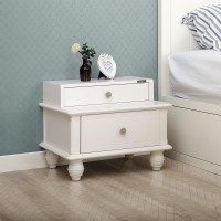 Angela Low Bed Side Table - Nakas Mini / Laci