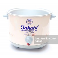 Takahi Slow Cooker 1.2 L Sparepart Body Only - Pink