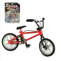 [globalbuy] Alloy Mini Finger BMX bike toys Model Bicycle Fixie with 2 Spare Tire Tools to/3428530