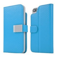 Capdase Apple iPod 5 Case, Folder Case Sider Polka (Blue)