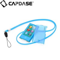 Capdase Apple iPod Nano 7 Case, Soft Jacket Value Set (Xpose + Fine DS) (Blue)