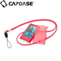 Capdase Apple iPod Nano 7 Case, Soft Jacket Value Set (Xpose + Fine DS) (Red)