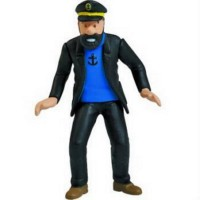 Herge Action Figure Komik Karakter Original