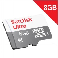 Sandisk Ultra 8GB MicroSD class 10 48MB/s 8 GB Micro SD non Adapter ORIGINAL GARANSI 5 Tahun
