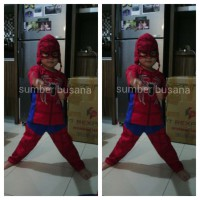 spiderman kostum anak