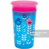 Munchkin Deco Miracle 360 Sippy Cup 266ml - Blue Flower
