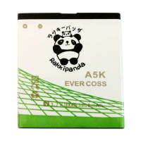 BATTERY BATERAI DOUBLE POWER DOUBLE IC RAKKIPANDA EVERCOSS CROSS A5K 3800mAh