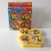 FISHING GAME 4 POOLS AND 4 RODS-  PANCINGAN IKAN
