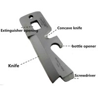 Timberline EDC Survival Knife 5 in 1 Multifunction Tool / Pisau Perkakas Multifungsi