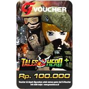 Voucher Gemscool 100.000