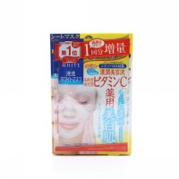 Kose Cosmeport Clear Turn White Mask (Vitamin C) 5 pcs per box + 1 FREE pcs