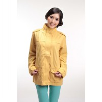 Fashion in Frame Sunflower Parka Jacket VW02 For Woman