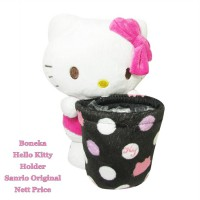 Boneka Holder Tempat Minum/HP Hello Kitty Sanrio Original