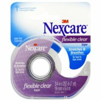 [macyskorea] Nexcare First Aid Tape with Dispenser, Flexible Clear, 3/4 in. x 252 in./5977773