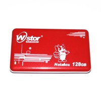 Notebox SSD W-Stor 128 GB Red