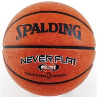 Bola Basket Spalding NeverFlat Indoor / Outdoor