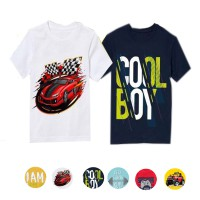 [NEW ARRIVAL FACTORY OUTLET] Kaos Karakter Anak Laki Cotton Combed 24s| PILIH SERI | Size 2y - 14y