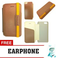 Kalaideng Leather Case Flip Cover iPhone 5 / 5S My Love Series FREE EARPHONE