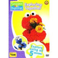 [DVD] Sesame Beginnings : Exploring Together [Licensed Indonesia]
