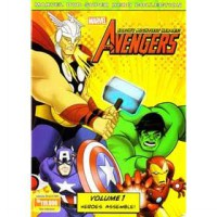 [DVD] Marvel The Avengers Earth's Mightiest Heroes vol.1 : Heroes Assemble! [Licensed Indonesia]