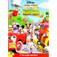 [DVD] Mickey Mouse Clubhouse : Road Rally [Licensed Indonesia]