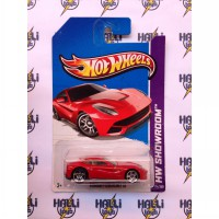 Hot Wheels Ferrari F12 Berlinetta Red REAR EDITION