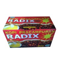 Herbal Radix Kopi Pracampuran 15 Sachet - 1box