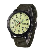 [poledit] BESSKY Mens Military Luminox Watches with Nylon Strap Quartz Army Watch Dial Dat/14586106