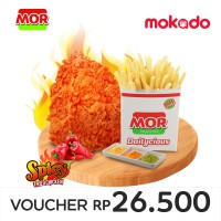 MOR Deals 6: 1 PCS SPICY FRIED CHICKEN + 1 SHAKY FRENCH FRIES
