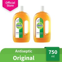 Dettol Antiseptic Liquid 750 ml 2 Pcs