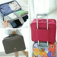 Korean Premium Partition Trunk Bag Size L