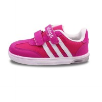 SEP228 - Girl Shoes Shoes Strap Pink with Light