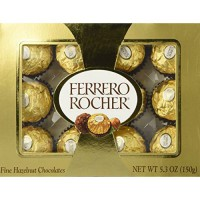 [poledit] Ferrero Rocher Fine Hazelnut Chocolate 5.3oz (T1)/14702678