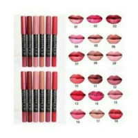 ECER NO 08 KISS PROOF LIPSTIK MATTE LONGLASTING BY ME NOW