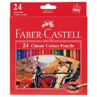 Faber Castell Classic Colour Pencil (24 Colour)