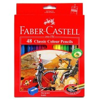 Colored Pencils Faber Castell Classic 48 Colors