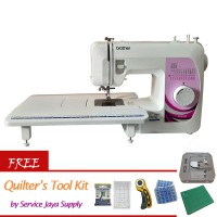 BROTHER GS2500LE Mesin Jahit Portable +Free Quilters Kit Set